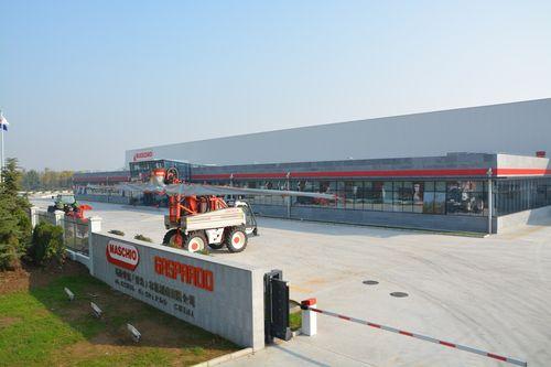 Nuovo stabilimento in Cina Gruppo MGU