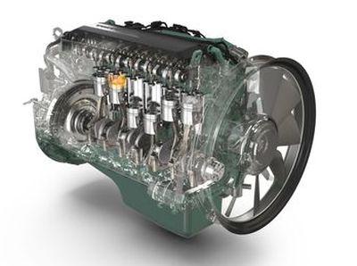 Volvo Penta Intermat D8 engine