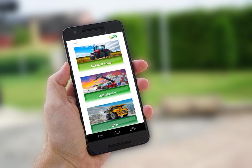 Nuova versione mobile per il sito di bkt agricoltura news for Sito mobili